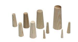 Pinoches coniques en bois Plastimo