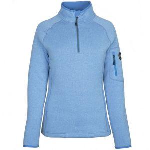 Pull tricoté en polaire Gill - Bleu