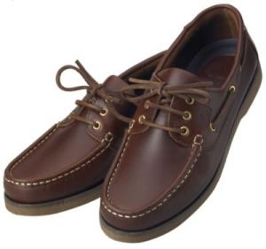 Chaussures bateau Crew XM Yatching - marron
