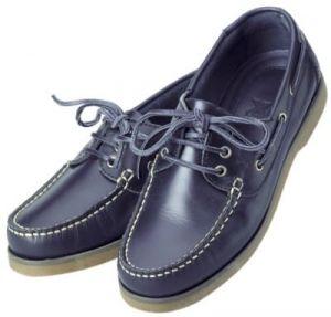 Chaussures bateau Crew XM Yatching-Bleu-40