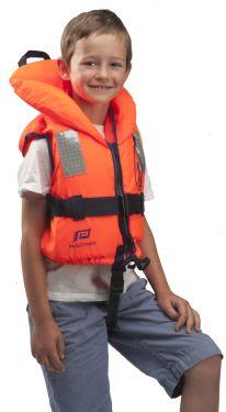 Gilet de sauvetage Typhon pour enfant 100 Newton orange