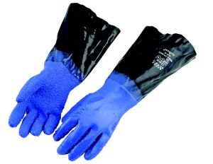 Gants North Atlantic Guy cotten Bleu
