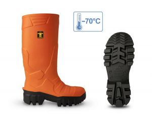 Bottes Thermo Guy Cotten - Orange