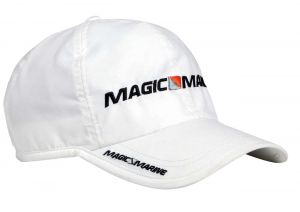 Casquette Logo Magic Marine Blanche