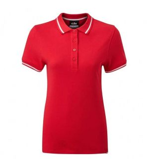 Polo Crew Femme Gill - Rouge