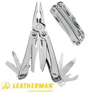 Couteau Leatherman Sideckick ouvert