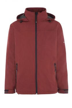 Veste imperméable Halong Bermudes - Rouge