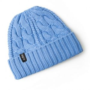 Bonnet Cable Knit Beanie Gill - Bleu