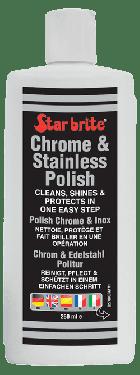Polish pour chrome et inox