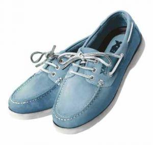 Chaussures Crew Femme XM Yatching bleu ciel