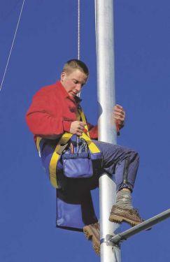 Chaise de mât professionnelle Plastimo - Bleu