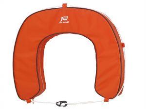 Bouée fer à cheval déhoussable PLASTIMO - Orange