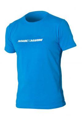 t-shirt Magic Marine Bleu Face