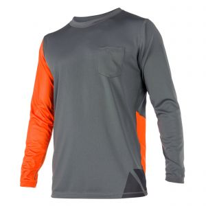 Tee Shirt Manches Longues Cube Orange