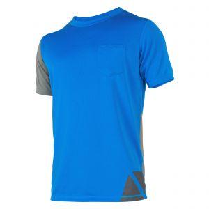 Tee Shirt Manches Courtes Cube Bleu