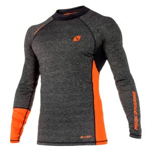 Top manches longues Energy Rash Vest Orange