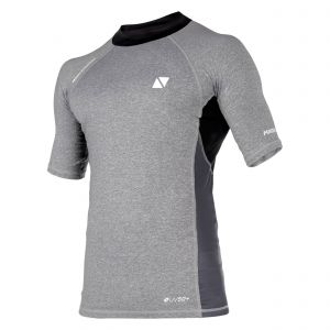 Top manches courtes Energy Rash Vest Gris