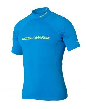 T-Shirt Lycra S/S Cube Rash Vest UV50+ Magic Marine-Bleu