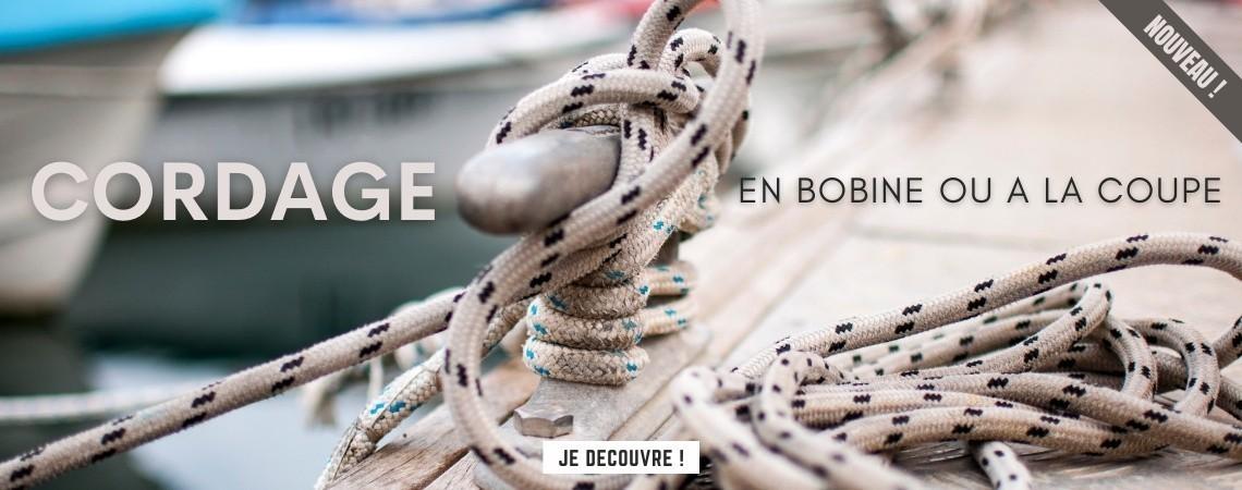 Cordage bateau : en bobine ou à la coupe | Nautisports