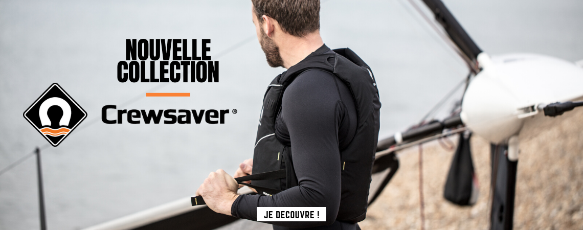 Nouvelle collection CrewSaver