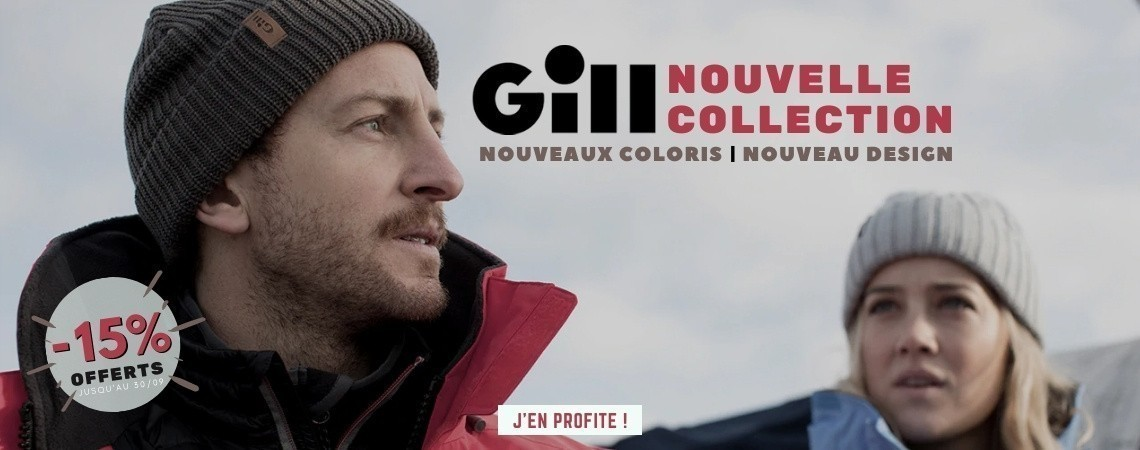 Nouvelle collection Gill Marine : 15% offerts