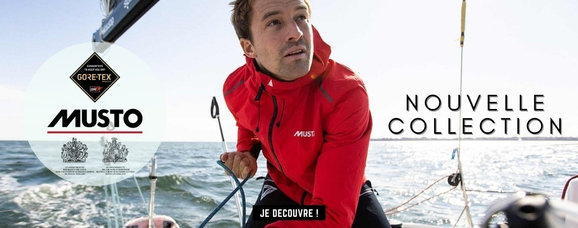 Nouvelle collection Musto Gore Tex