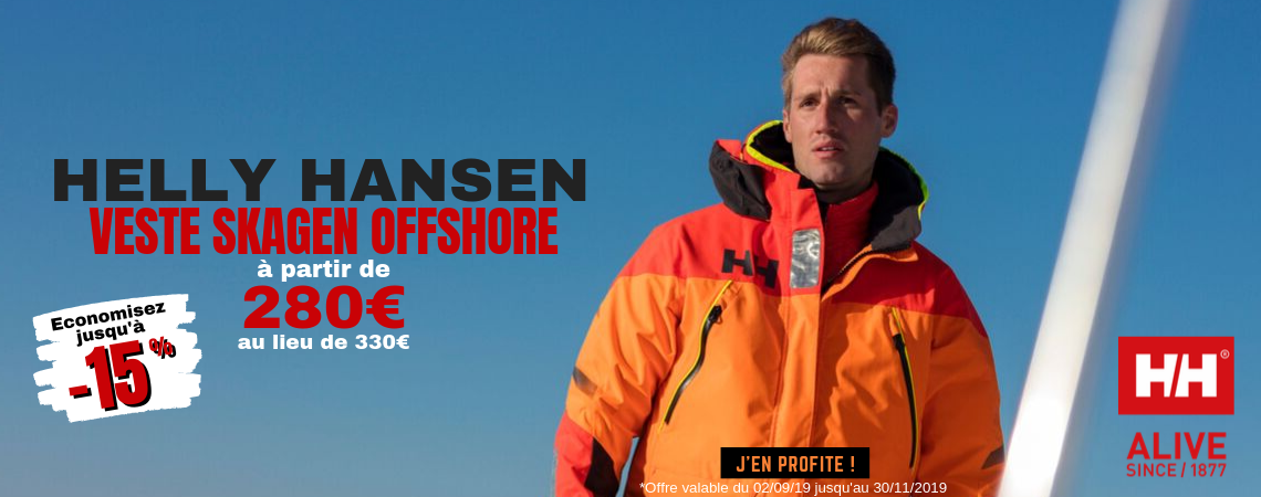 Skagen Offshore Jacket Helly Hansen