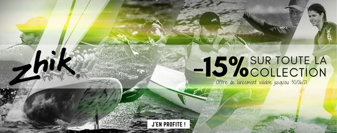 Offre de lancement Zhik : -15% offerts | Nautisports